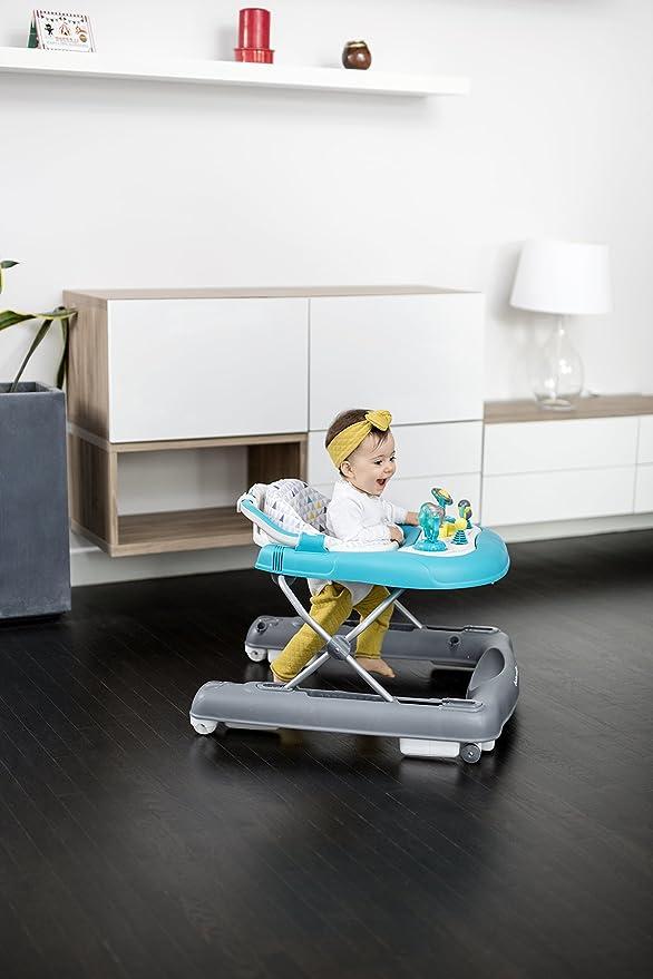 Babymoov A040007 - Andador 2 en 1, color azul: Amazon.es: Bebé