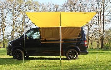 Parasol para furgoneta, toldo, capota para Volkswagen de color amarillo