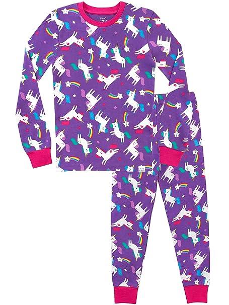 7f792c4e35 Harry Bear Pijamas para niñas Unicornio Ajuste Ceñido  Amazon.es  Ropa y  accesorios