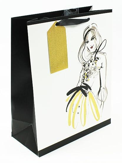 Bolsa de regalo para mujer, tamaño mediano, lujosa, para ...