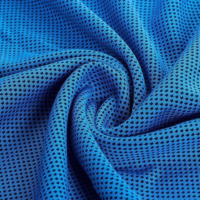MyLifeUNIT Toalla de refrigeración, 2 unidades, 900 x 300 mm, ST18GYL038, azul celeste, 900 mm x 300 mm: Amazon.es: Deportes y aire libre