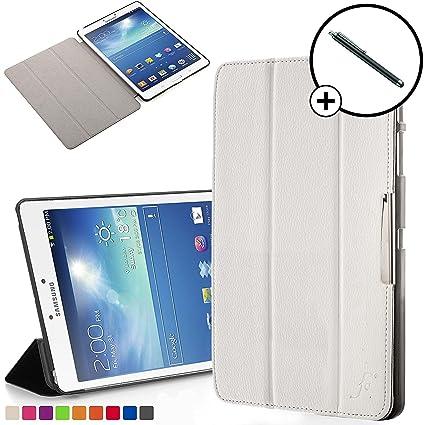 Forefront Cases Smart Funda para Samsung Galaxy Tab 3 8.0 Carcasa Stand Case Cover – Protección Completa y Ultra Delgado Ligera con Auto Sueño Estela ...