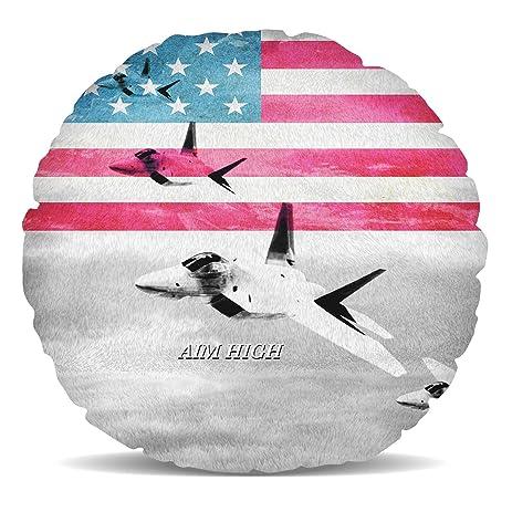 Air Force USA USAF Fleece Cushion