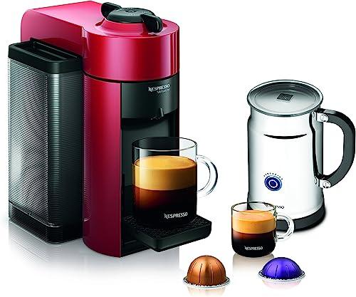 Nespresso A GCC1-US-RE-NE VertuoLine Evoluo Coffee Espresso Maker