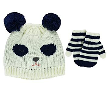 Amazon.com  Carter s Toddler Girls Knit Winter Ski Beanie Hat and ... ef1ef2b9528