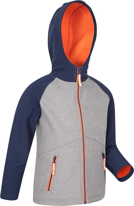 Lightweight Mountain Warehouse Kids Water Resistant Softshell Jacket