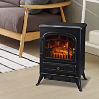Deals on HOMCOM Freestanding Electric Fireplace Heater