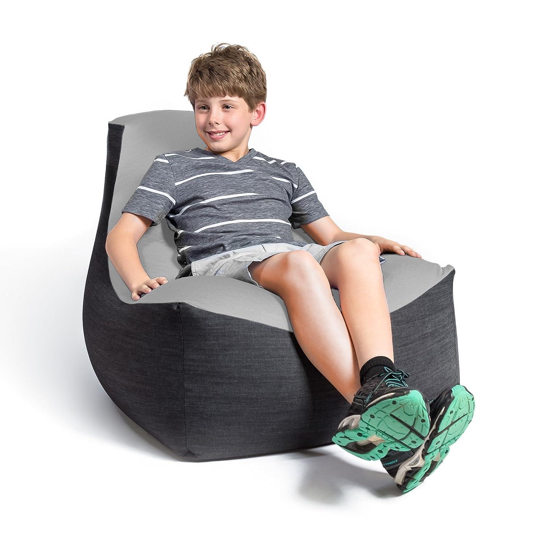 Amazon.com: Jaxx Strato Spandex/Denim Puf para adolescentes ...