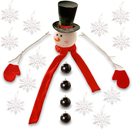 Details about  /Christmas Tree Pendant Wooden Christmas Tree Christmas Decoration Snowman show original title