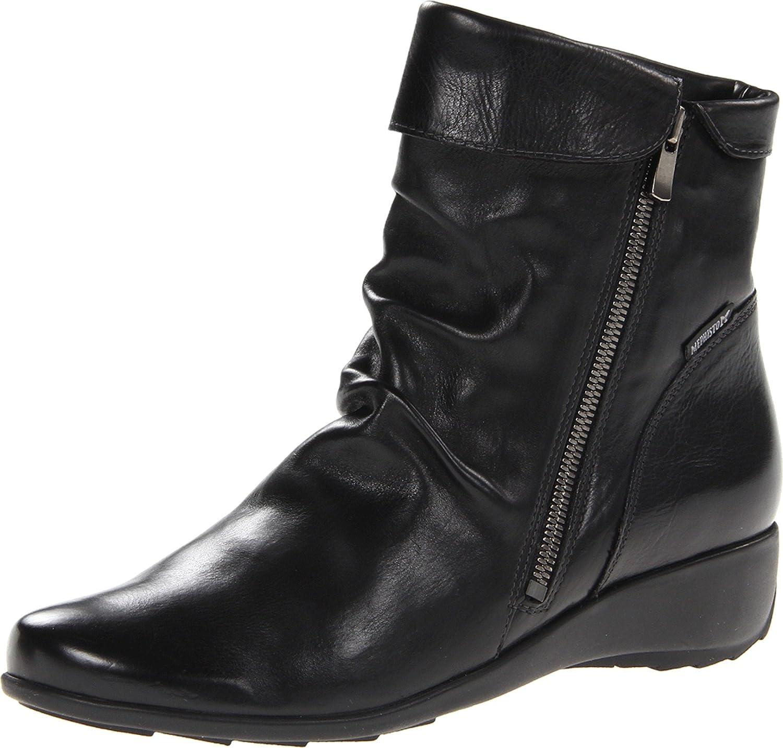 Mephisto Women's Seddy Boot B00BPYY2JU 5 B(M) US|Black Texas