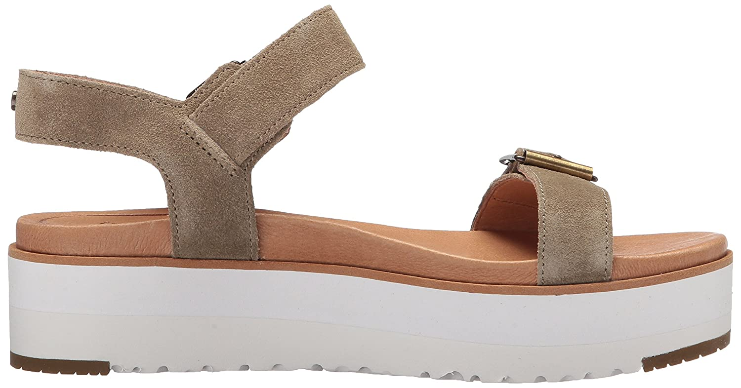 151affd5546e UGG Australia Women s Angie Ankle Strap Sandals  Amazon.co.uk  Shoes   Bags
