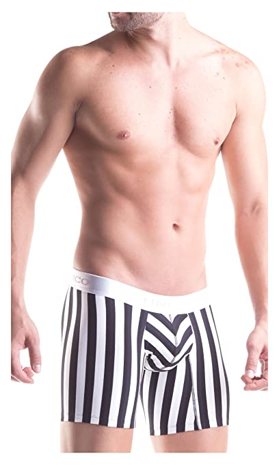 Mundo Unico Cotton Medium Boxer Briefs Stripes Colombian Underwear for Men at Amazon Mens Clothing store: