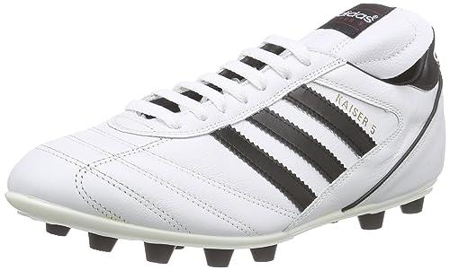 finest selection aa1f2 9da72 adidas Kaiser 5 Liga - Botas para Hombre, Color Blanco Negro  Amazon.es   Zapatos y complementos
