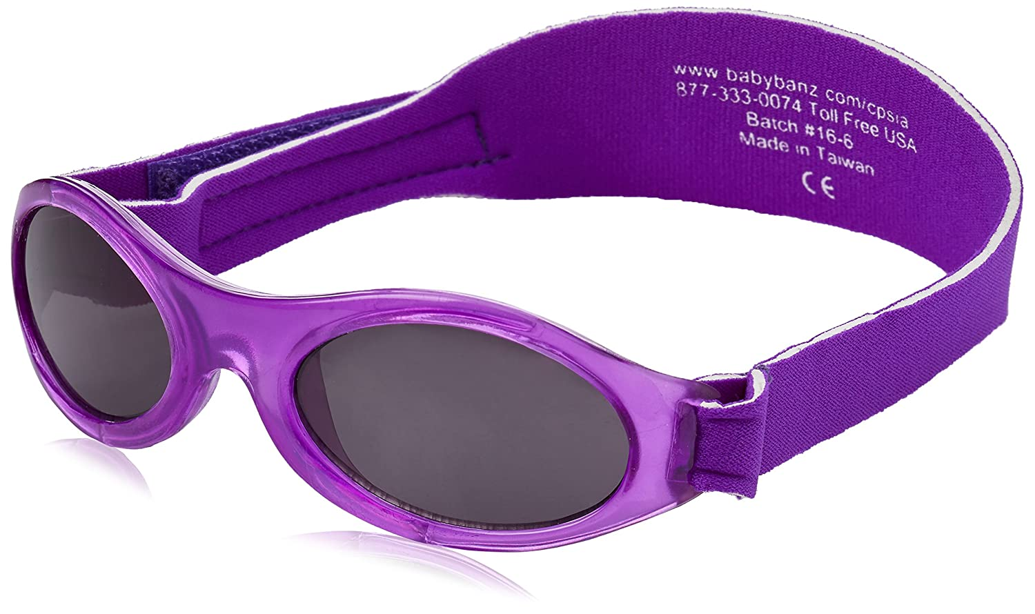 Babybanz Baby Banz Purple, UV eye protection for 0-2 year olds ABBPU