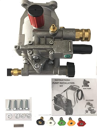 pumps-n-more priority shipping New PRESSURE WASHER PUMP KIT Replaces A14292  Fits Honda Excell FULL ONE YEAR WARRANTY - Includes thermal relief valve