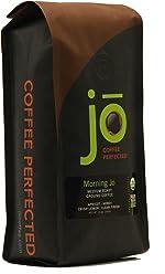 MORNING JO: 12 oz, Organic Breakfast Blend Ground Coffee, Medium Roast,