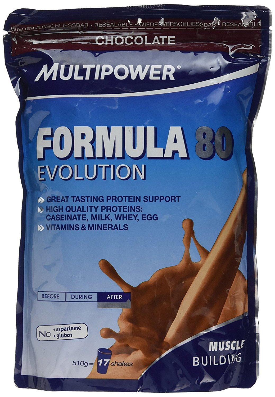 Multipower Formula 80 Chocolate Mezcla de Proteínas - 510 gr ...