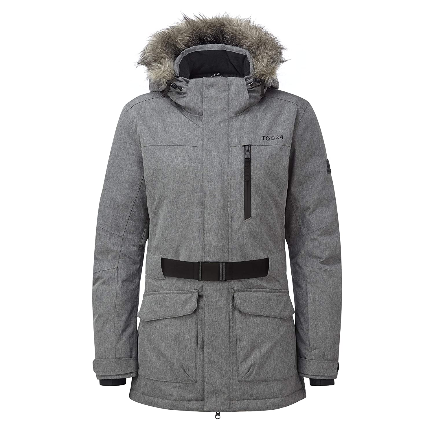 7ca9b10767 Tog24 Aria Womens Waterproof Insulated Ladies Parka Ski Jacket with Faux  Fur  Amazon.co.uk  Sports   Outdoors
