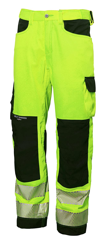 Yellow//Charcoal 76455/_369-D108 Hi-Vis PantsYork Size In D108