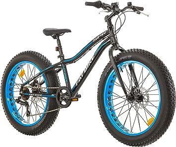 Bicicleta FatBike de 24 pulgadas, con cuadro de aluminio – 6 ...