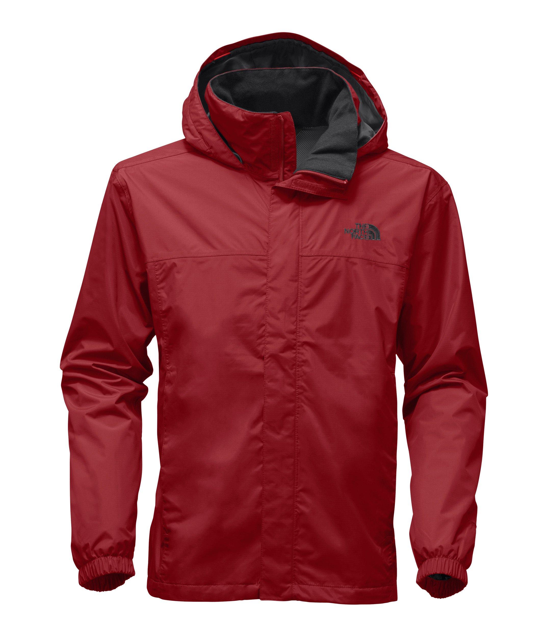 The North Face Men's Resolve 2 Jacket - Rage Red & Rage Red - XXL