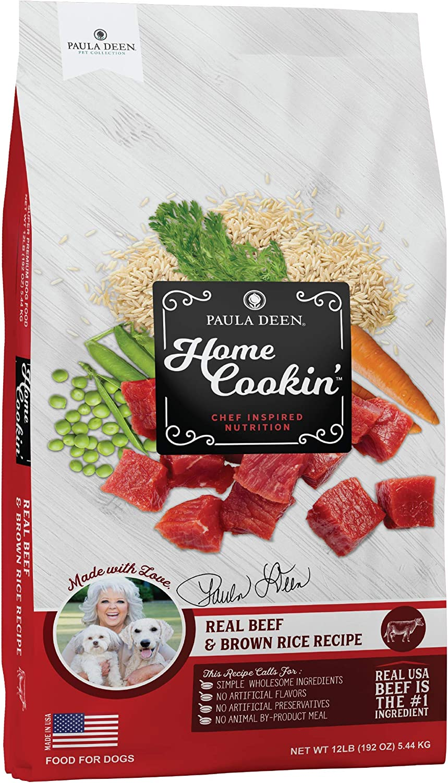 Paula Deen Home Cookin' Pet Collection 15529 Grain Free Dog Food, Large