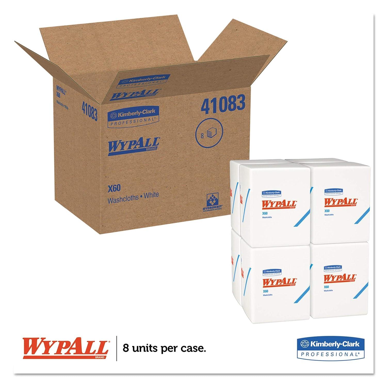 10/Pop-Up-Boxen x/126/Wischt/ücher Reinigungst/ücher insges. 1.260 WypAll X60 Reinigungst/ücher 8376 wei/ß