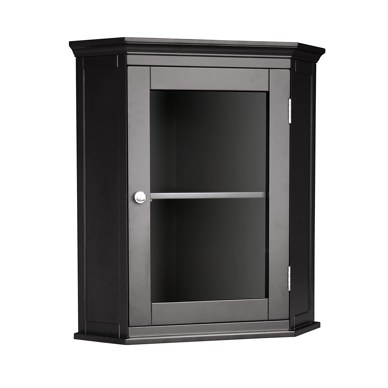 Amazon Elegant Home Fashions 7657 Madison Corner Wall Cabinet