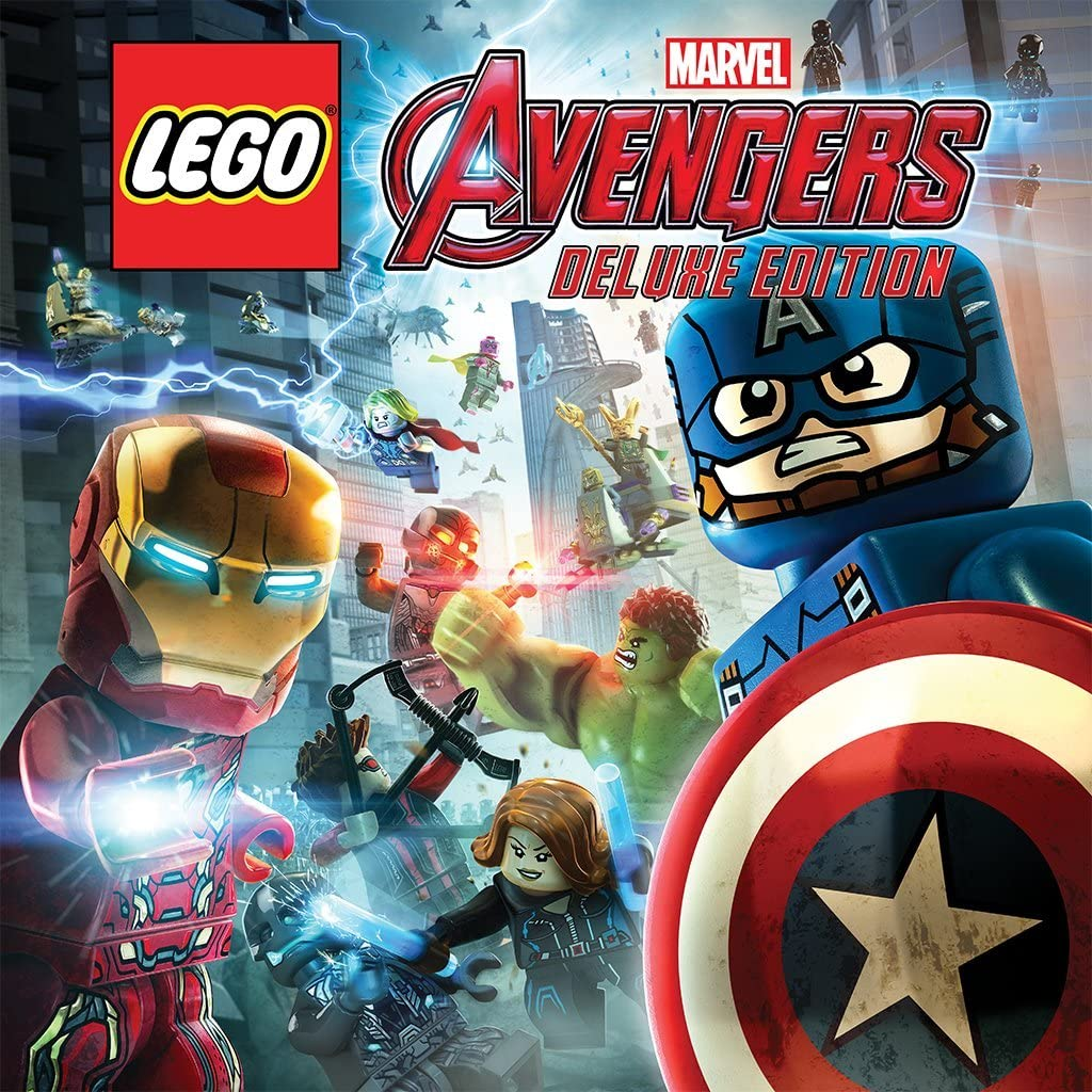 Image result for lego marvel avengers ps4 deluxe edition