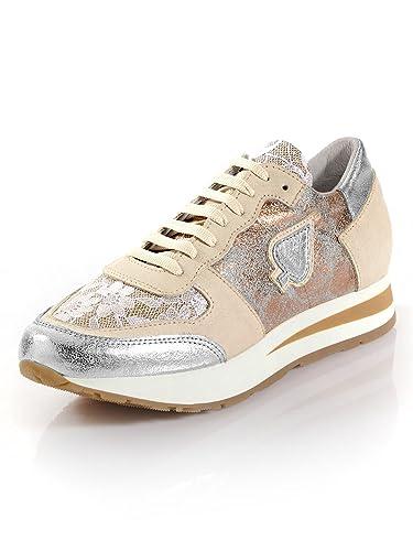 the latest c17de 4caf4 Alba Moda Sneaker mit Glitzereffekt: Amazon.de: Schuhe ...
