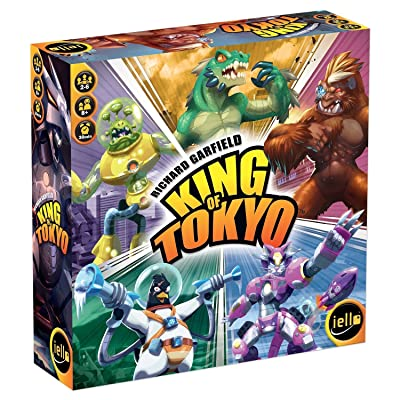 IELLO King of Tokyo: New Edition Board Game: Toys & Games