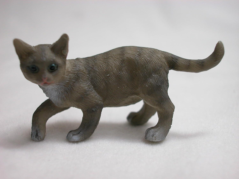 Amazon.es: Casa de muñecas miniatura gatos X2: Juguetes y juegos