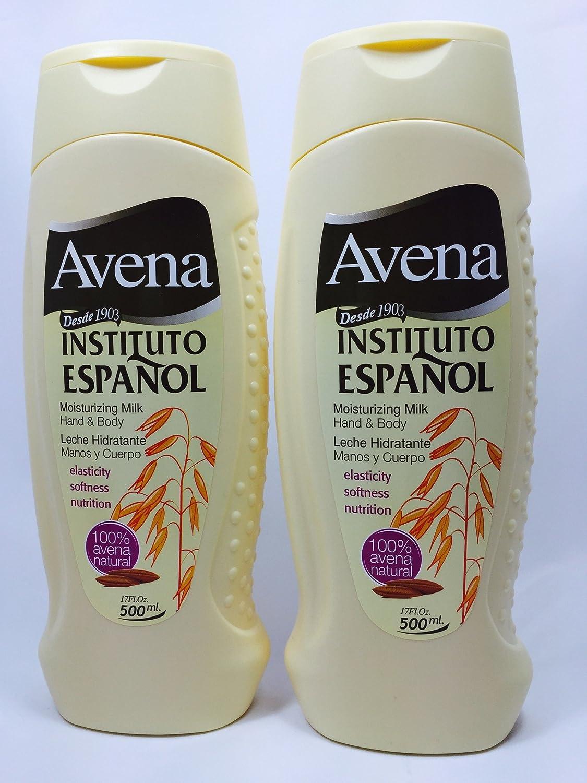 Amazon.com : Avena Moisturizing Milk Hand & Body (Pack of 2) 17fl oz each. : Beauty