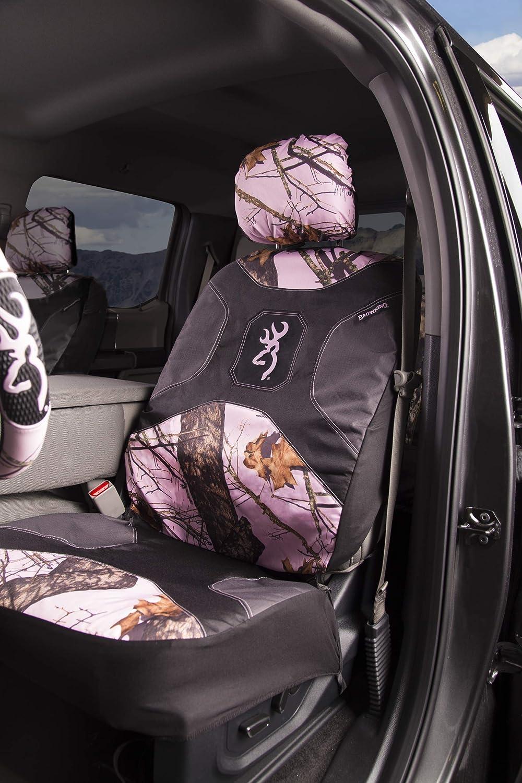Browning Camo Sitzbezug Niedrige Rückenlehne Break Up Pink 1 Stück Sport Freizeit