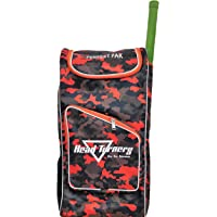 HeadTurners Duffle Cricket Kit Bag Individual Style- Kit Bag only-Camo Design (Orange)