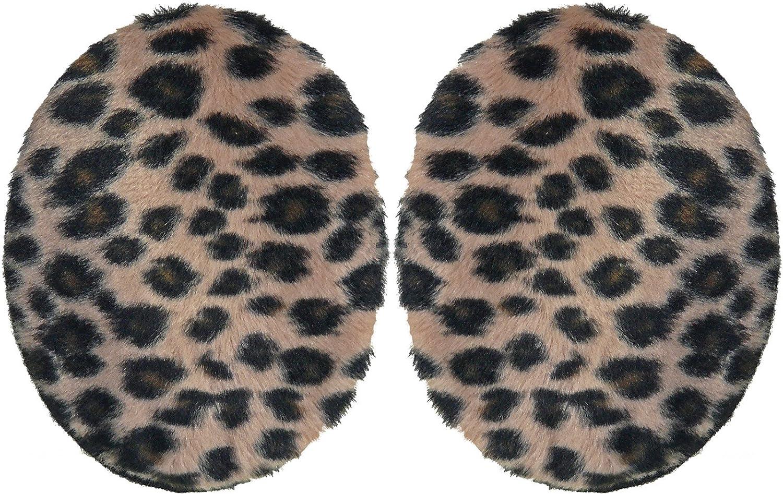Earbags Fleece viele Modelle Fashion G Farbe Leopard