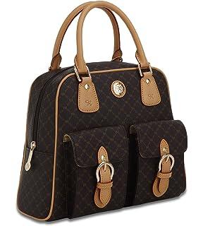 Signature Top Handle Organizer by Rioni Designer Handbags   Luggage dee3e6964e