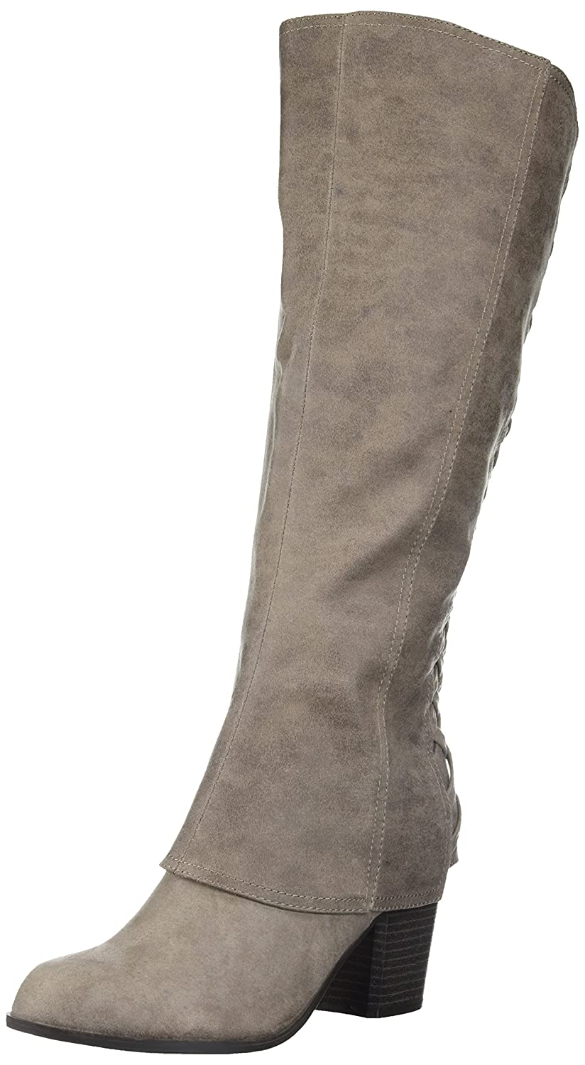 Fergalicious Women's Tootsie Wide Calf Knee High Boot B074NBRYW8 9.5 B(M) US|Doe
