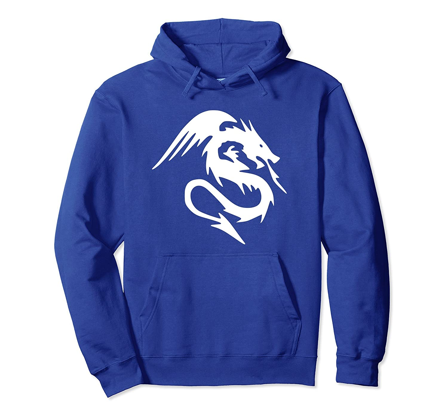 Asian Dragon Devil Hoodie-mt