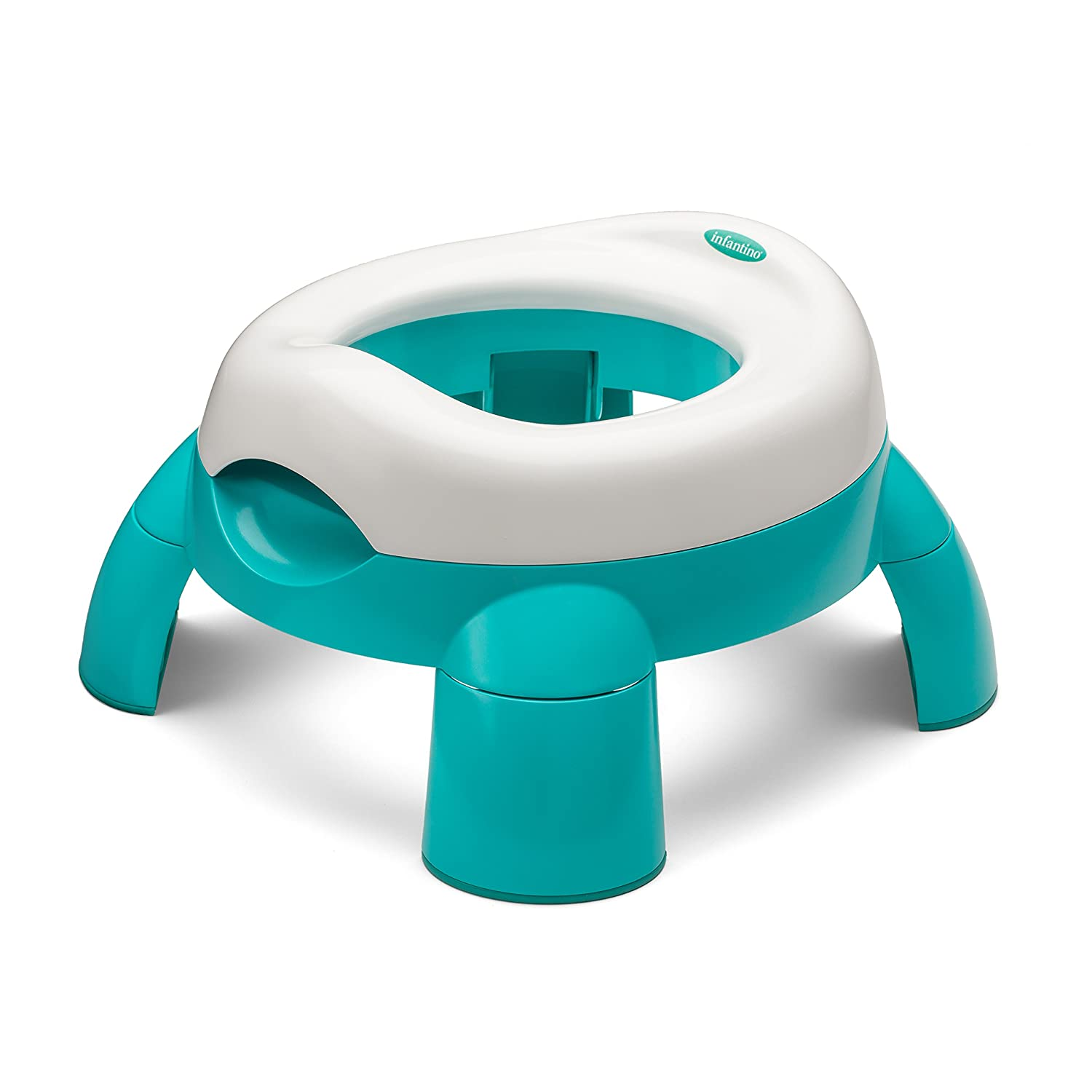 Infantino Up and Go Compact Travel Potty, Teal 206-280