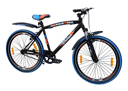 f1a135898d6 Tata Stryder Harris 100 MTB Steel Black Bicycle (For 12 and Above Years)