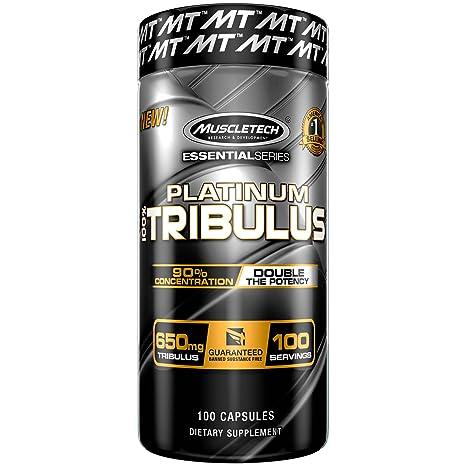 Muscletech Essential Series Platinum 100% Tribulus Standard - 100 Cápsulas