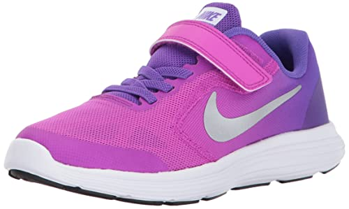 42bc45df2297 NIKE Unisex Kids  Revolution 3 (PSV) Fitness Shoes  Amazon.co.uk ...