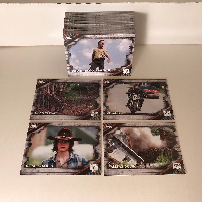 Topps Walking Dead Trading Cards Season  Base Set Cards - Us zip code kml