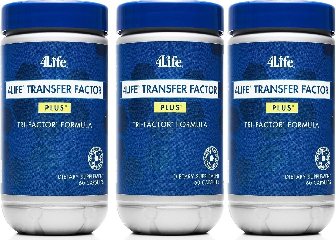 x 3 Transfer Factor Plus Tri-factor – 60 count 3 Bottles