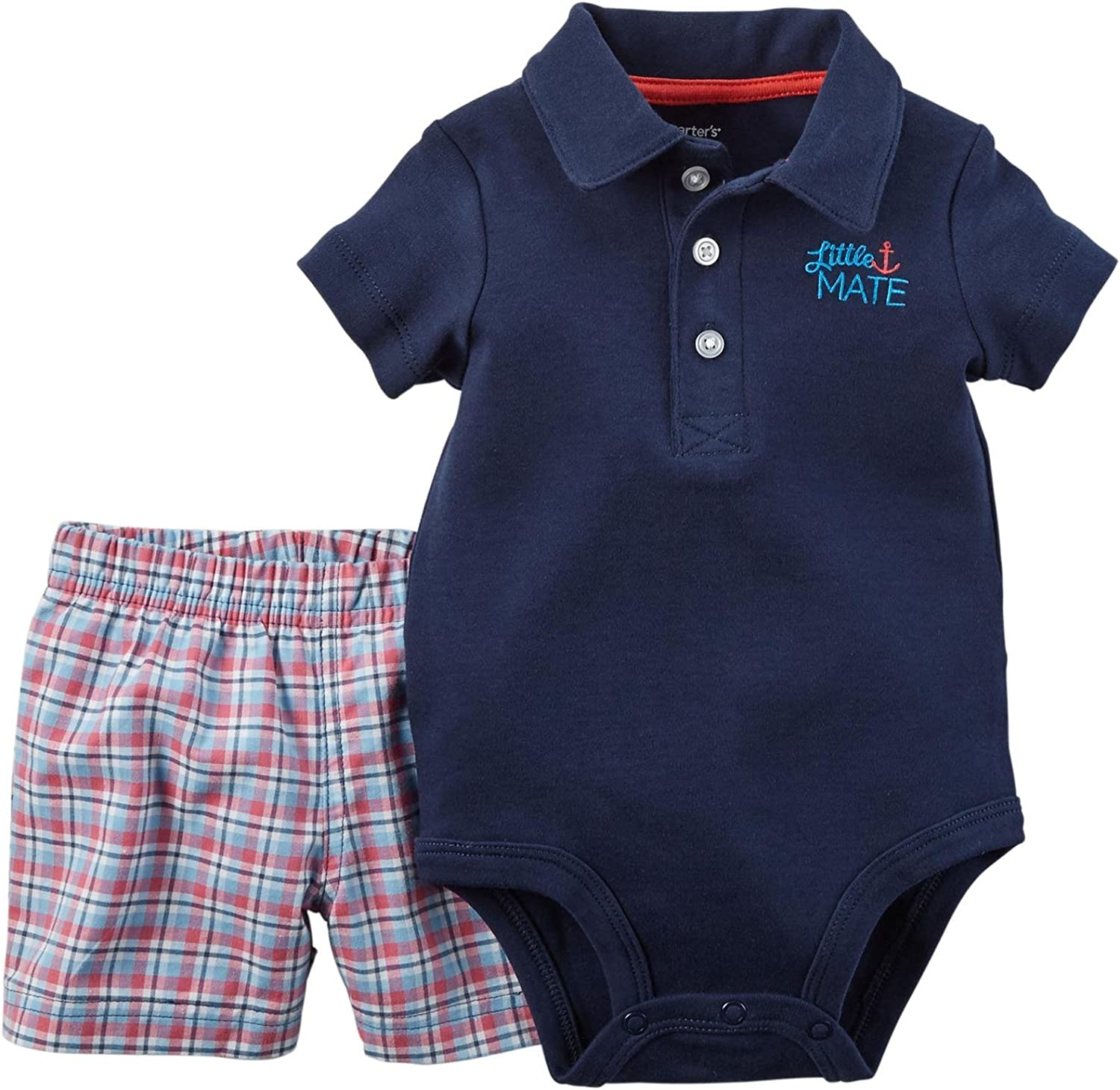 Carters Baby Boys Bodysuit Pant Sets 121g452