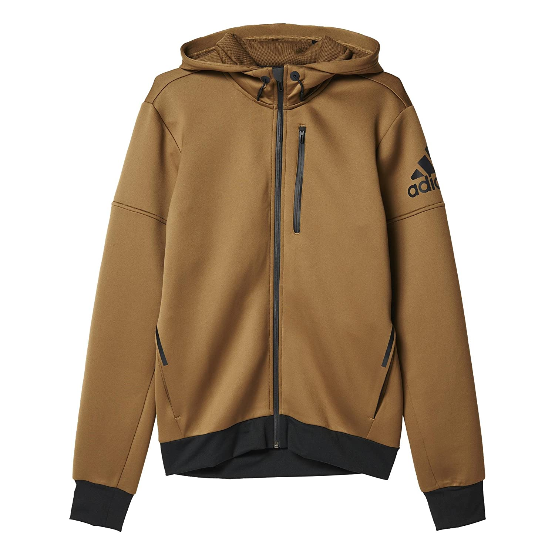 adidas Daybreaker Chaqueta para Hombre, Color marrón