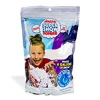 Be Amazing! Toys Amazing Super Snow Powder - Bulk Class Party Pack - Great For Slime - Makes 8-10 gallon of Artificial Fake Snow (400G-1Lb)