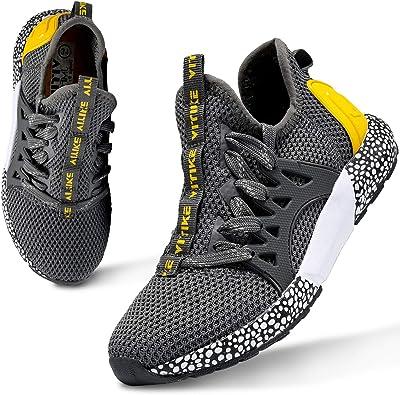 WETIKE Zapatillas Deportivas Niños Zapatillas de Running Casual Zapatos Deporte Transpirables Calzado con para Niño, Niña, Junior 31-40EU: Amazon.es: Zapatos y complementos