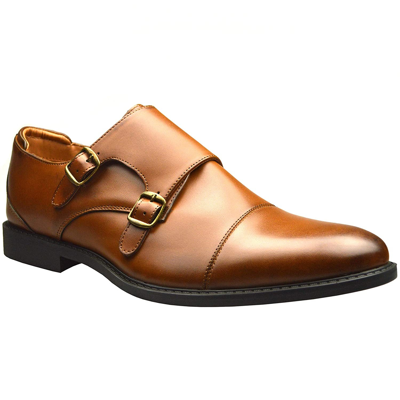 TALLA 41 EU. ClassyDudeEl0522 - Zapatos de vestir brogues Hombre